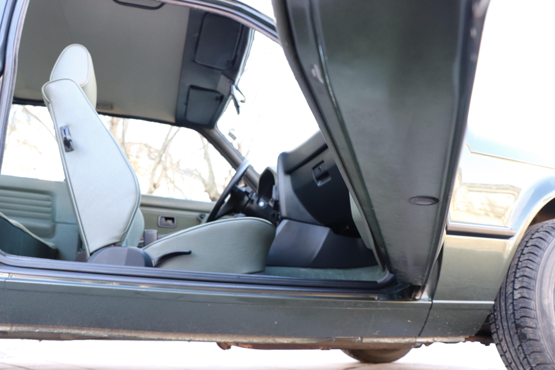 Intérieur BMW 323i de 1985
