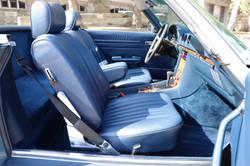 Intérieur Mercedes 380SL de 1984