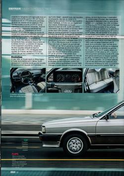KM/H AUDI coupé GT