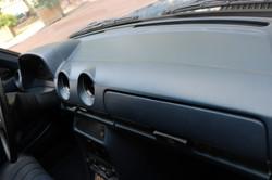 Intérieur Mercedes 200E de 1978