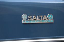 Salta Mercedes 200E de 1978