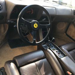 Intérieur Ferrari Testarossa