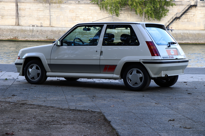 Super Cinq GT Turbo de 1989
