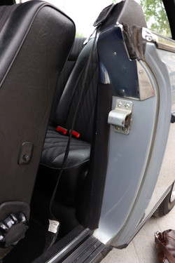 Intérieur porte Mercedes 230 Ce de 1982