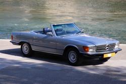 Options Mercedes 380SL de 1984
