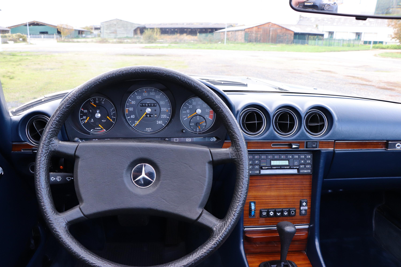 Intérieur Mercedes 380SL de 1982