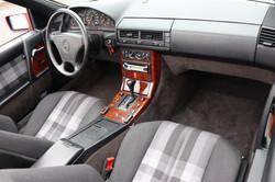 Intérieur Mercedes 300SL de 1992