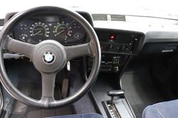 Intérieur BMW 323i de 1980