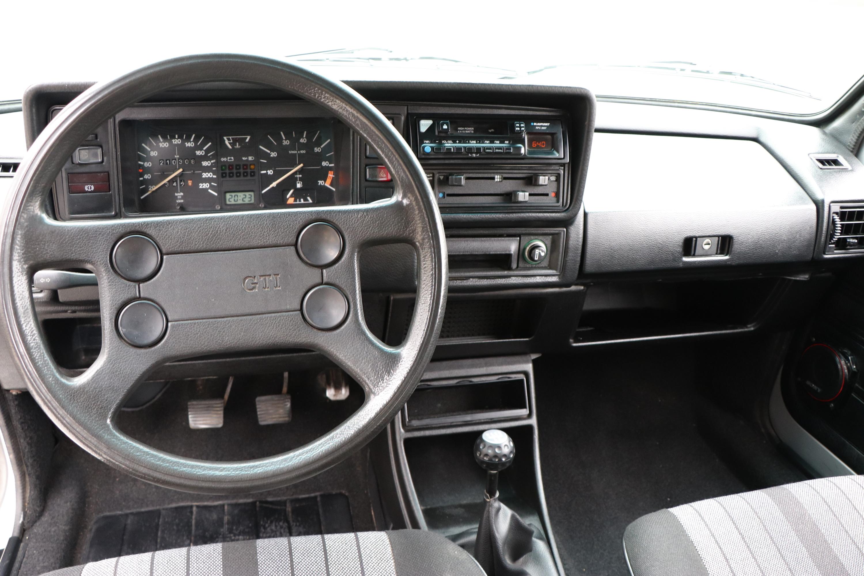 Intérieur Golf GTI de 1983