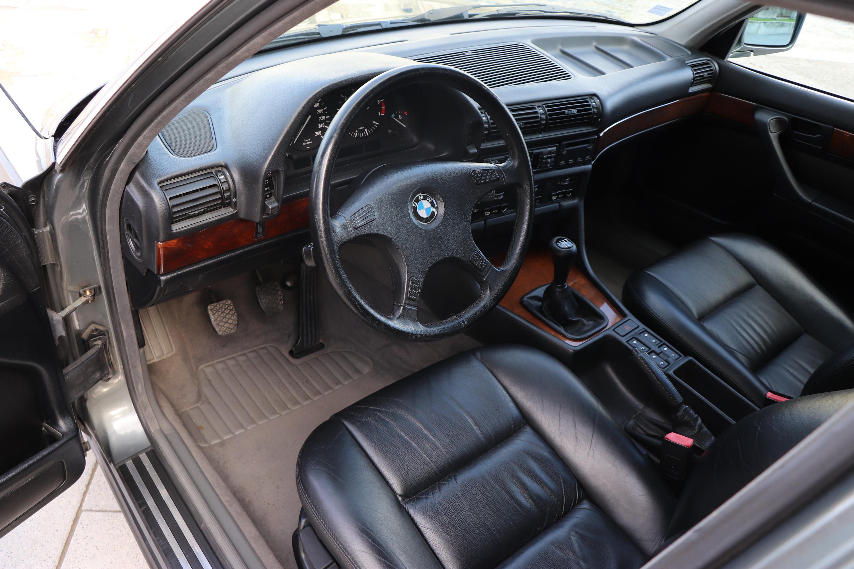 Intérieur BMW 730i de 1990
