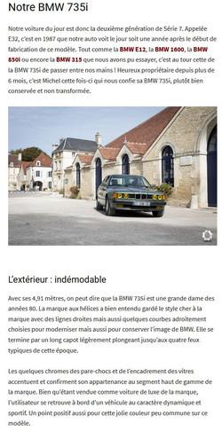 BMW 735i de 1987