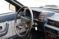 Intérieur Audi coupé GT de 1982