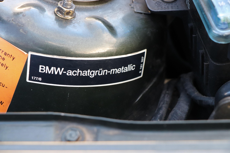 Couleur BMW 323i de 1985