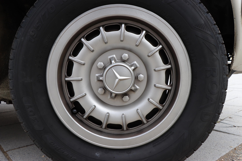 Jantes Mercedes 230E de 1982