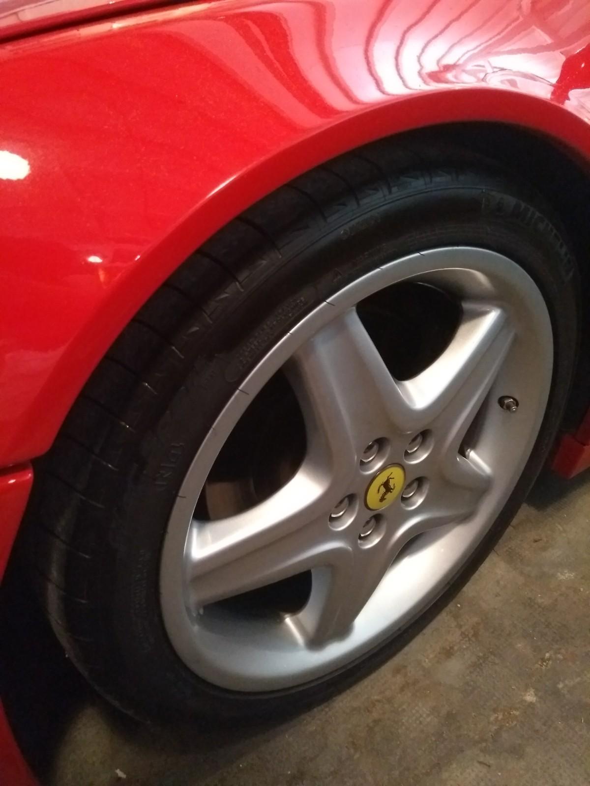 Jante Ferrari 512 TR de 1992
