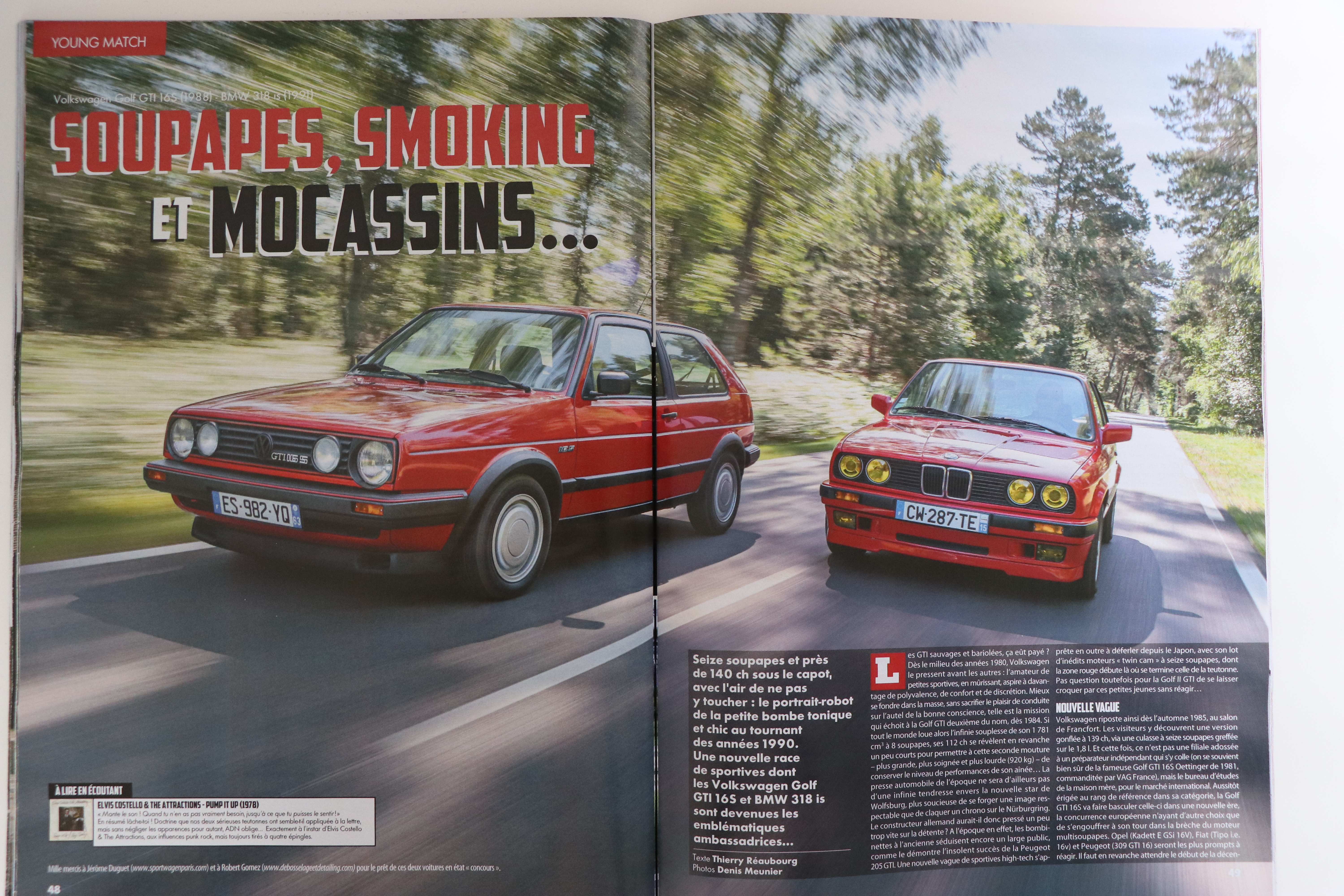 BMW 318is vs Golf GTI 16s