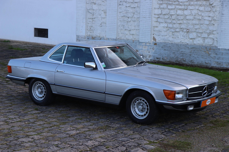 Mercedes 380SL de 1982