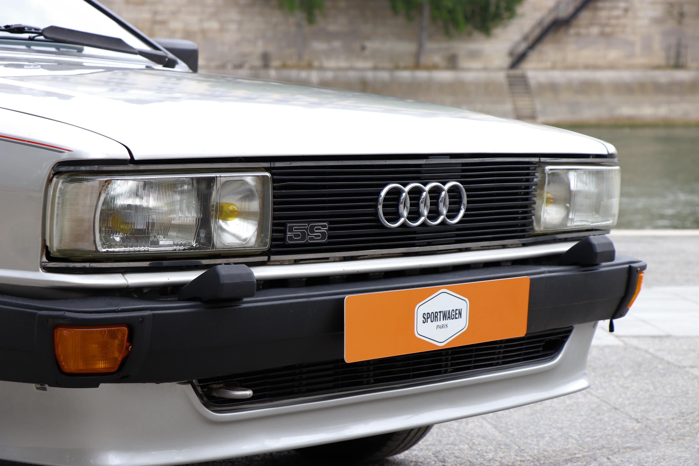 Audi coupé GT 5S de 1982