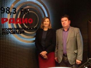Первый опыт участия в прямом эфире на Радио Комсомольская Правда Новосибирск представителей КА НСО «