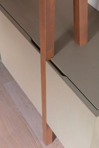 Un design élégant avec ces poignées minimalistes