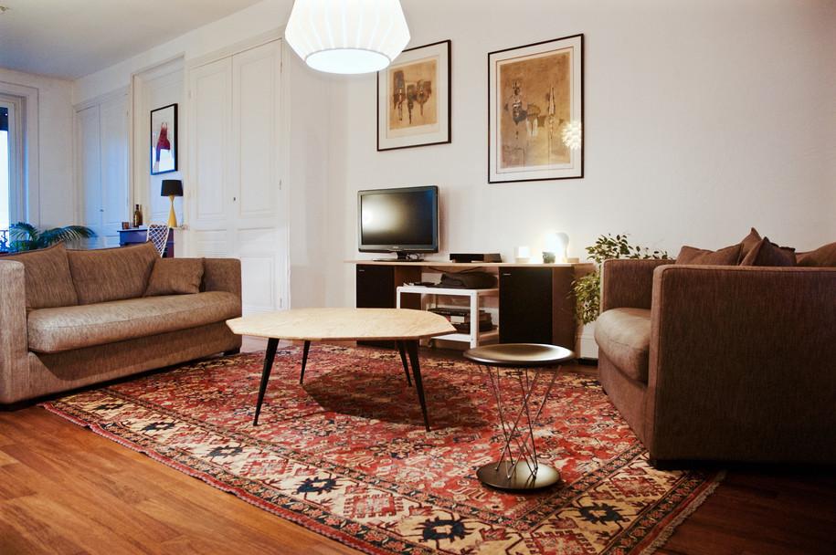 Table basse de salon Polyt - Plan large