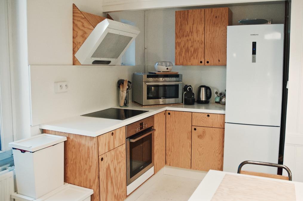 Cuisine Kitchen Flam - plan large