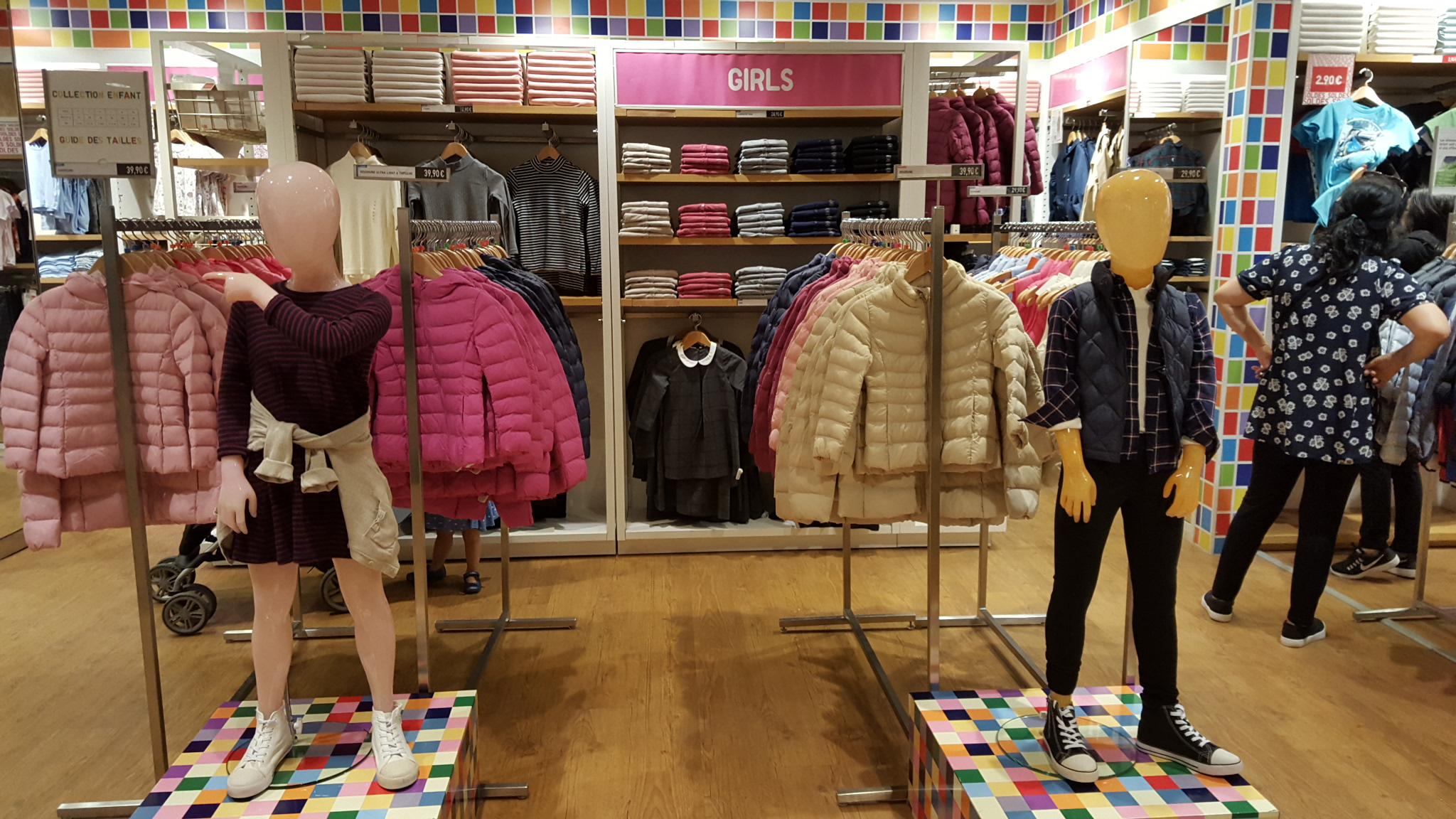 Zone kids merchandising