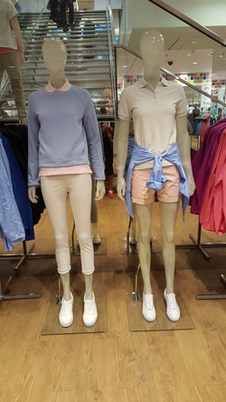 Mannequin styling Athleisure