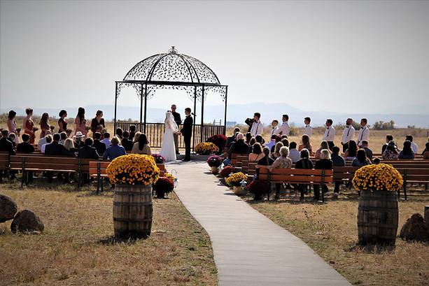 The Covey Wedding Ceremony
