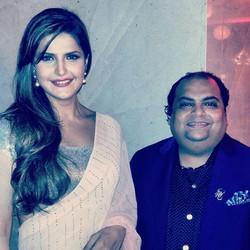 With Bollywood Diva - Zareen Khan #gorgeous #beautiful #zarinekhan #zareenkhan #bollywood #pretty #g