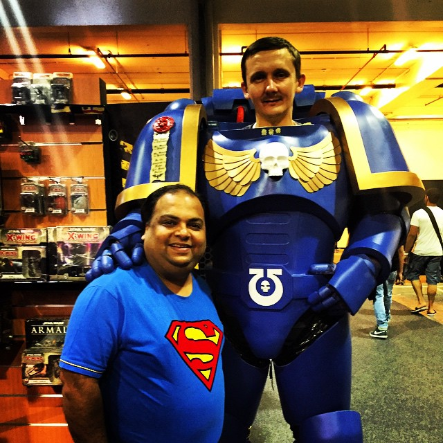 #comicon #mefcc #tradecenter #dubai #comics #marvel #super #superheros #superman