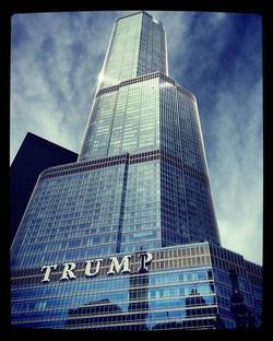 Trump Tower Chi #riverwalk #travels #downtown #illinois #discover #chi #chicago #trump #trumptower #
