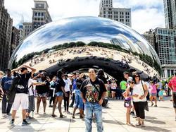 #millenniumpark #thebean #thebeanchicago #chi #chicago #america #usa #illinois #journey #discover #t