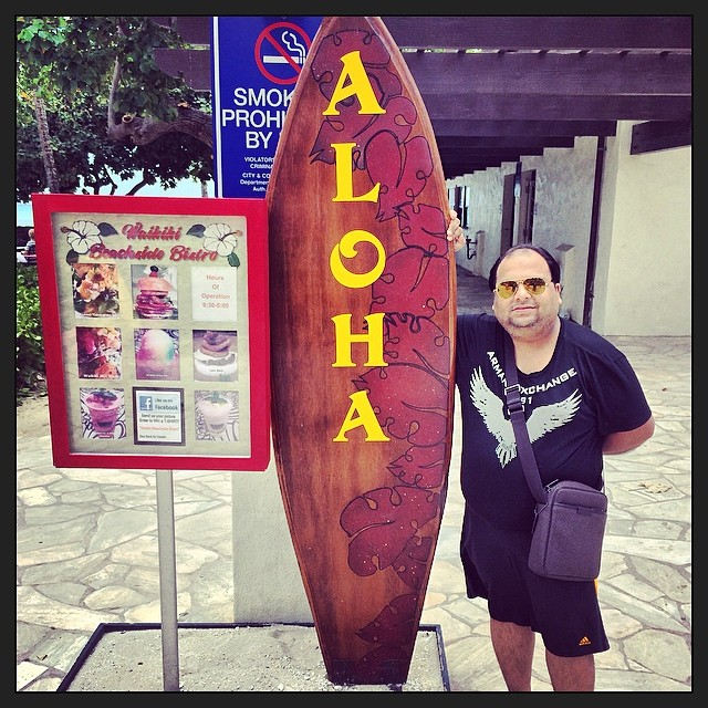 Aloha Waikiki #aloha #waikiki #hollywood #happy #beach #hawaii
