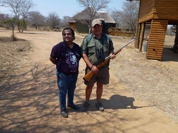 my Ranger with his gun
