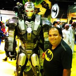 Batman meets Iron Man #bat #batman #dccomics #ironman #iron #avengers #marvel #comics #comicon #mefc