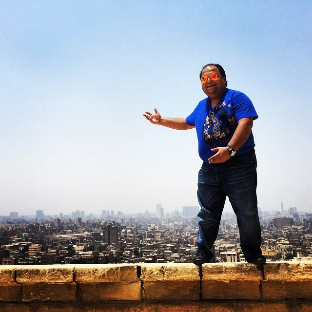 Life in Cairo ... On top of the world ..