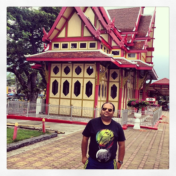 Hua Hin Royal Train station