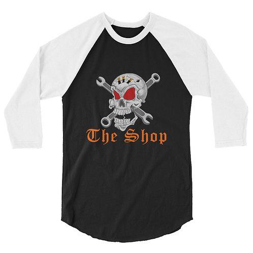 Jolly Roger, 3/4 sleeve raglan shirt
