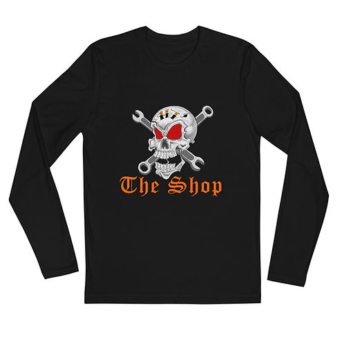 Jolly Roger Long Sleeve Fitted Crew