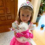 Sera and her kitten