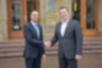 Prof. Dr. Joybrato Mukherjee, Justus-Liebig-Universität Gießen und Oliver Bialas