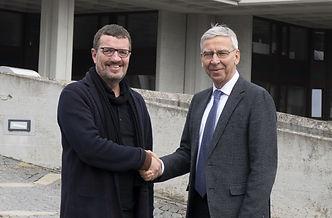 Prof. Dr. Udo Hebel, Universität Regensburg und Oliver Bialas