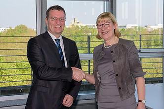 Prof. Dr. Dr. h.c. Ursula Gather, Technische Universität Dortmund und Oliver Bialas