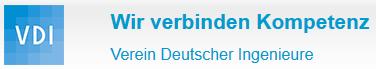 Logo: VDI - Verein Deutscher Ingenieure