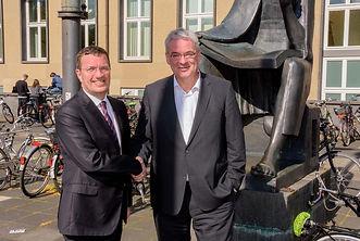 Prof. Dr. Axel Freimuth, Universität zu Köln und Oliver Bialas