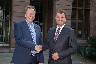 Prof. Dr. Wolram Ressels, Universität Stuttgart und Oliver Bialas