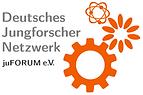 Logo: Deutsches Jungforscher Netzwerk juFORUM e.V.