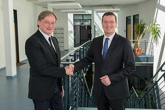 Prof. Dr. Hartmut Ihne, Hochschule Bonn-Rhein-Sieg und Oliver Bialas