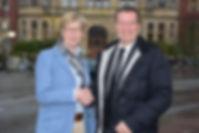 Prof. Dr. Ute von Lojewski, FH Münster und Oliver Bialas